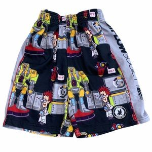 FLOW SOCIETY Lacrosse Shorts MAD SCIENTIST